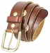 12 Gauge Shotgun Shell Full Grain Leather Belt - Tan2