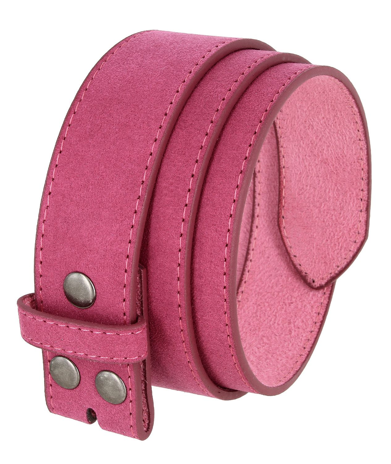 Casual Suede Leather Belt Strap for Men 1 1//2 Wide