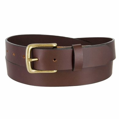 """CX16032 Men's Full Grain Leather Dress Casual Belt 1-1/4"""" Wide """"Made In USA"""""""