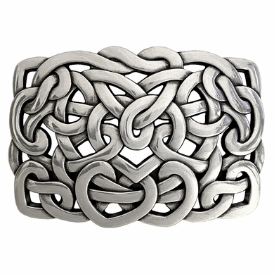 Heart Connected Belt Buckle