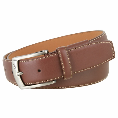 Nike G-Flex Leather Belt Men's Golf Belt - Brown