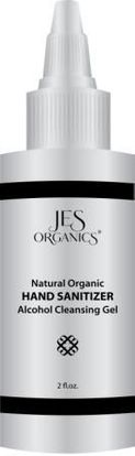 Natural Organic Alcohol Hand Cleansing Gel - 2 oz.