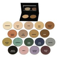 SAVE ON PALETTE: Pressed Organic Eyeshadow Duo in Choice of Colors