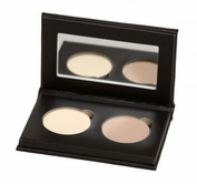 Pressed Organic Eyeshadow Duo in Choice of Colors