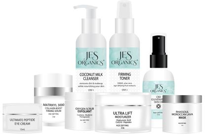 Mature, Anti-Aging or Dry Skin Set - 8 Piece Set with Free Gift