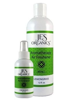 Natural Organic Aromatherapy Spray with Refill Bottle - Lemongrass