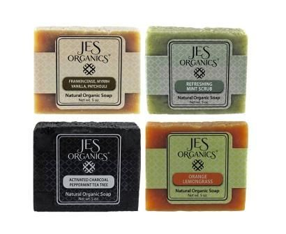 Natural Organic Handcrafted Soaps - Buy 4 of YOUR CHOICE & Save