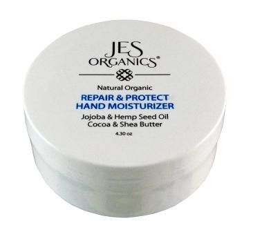 Natural Organic Infused Age Defying Repair & Protect Hand Cream with Vitamin C, Shea & Cocoa Butter, Hempseed Oil