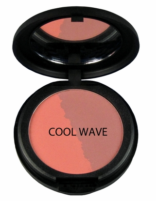 Natural Pressed Mineral Blush - Duo Colors
