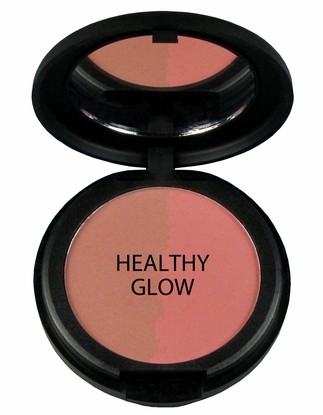 Natural Pressed Mineral Blush - Healthy Glow Duo