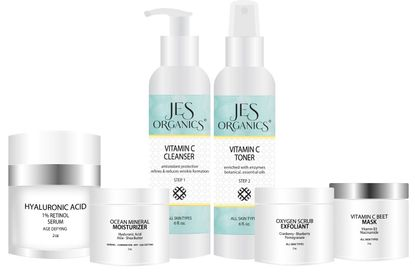 Normal-Combination Skin Care Set - 6 Piece Set with Free Gift