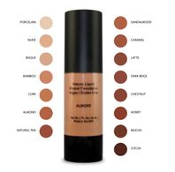 Organic Aloe Natural Liquid Foundation with Natural SPF