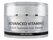 Advanced Vitamin C Moisturizer with Squalane, Glycolic & Hyaluronic Acid