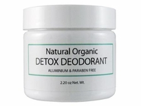 Organic Natural Detox Deodorant - NEW Larger Size