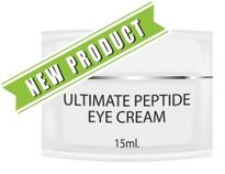 Ultimate Peptide Age Defying Eye Cream with Vitamin C, CoQ10 & Squalane