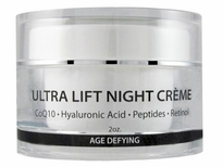 Ultra Lift CoQ10 Peptide Cream with Hyaluronic Acid
