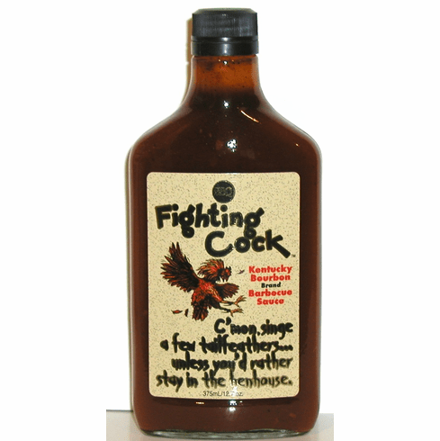 Fighting Cock KY Bourbon Barbecue Sauce