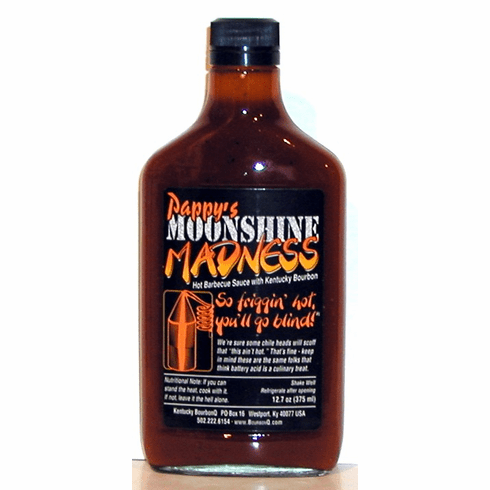 Moonshine Madness Barbecue Sauce