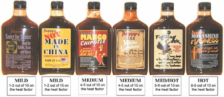 PAPPY'S  BBQ SAUCES