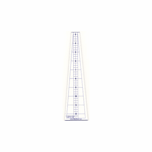 10 Degree Mini Wedge Ruler