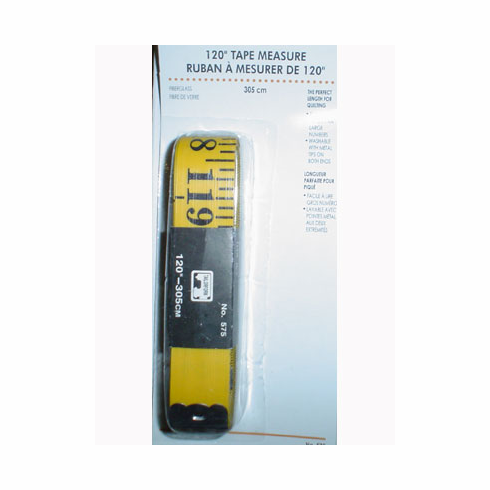 """120"""" Carded Tape Measure"""