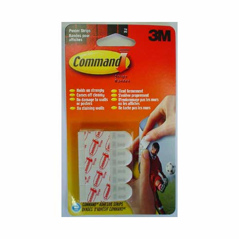 3M Command Mounting Strips,12 Strips
