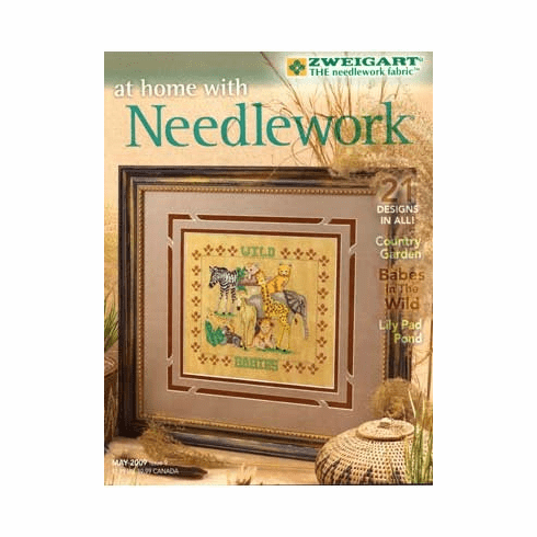At Home With Needlework Magazine - May To August, 2009