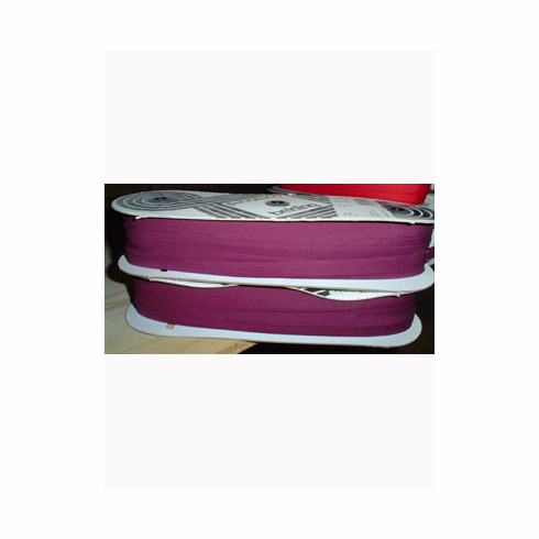 Bias Tape Double Fold Extra Wide Bolt 12mm Wide 50m longBurgandy