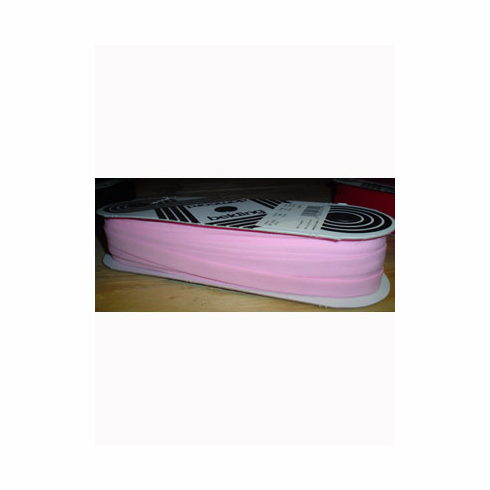Bias Tape Double Fold Extra Wide Bolt 14mm Wide 50m longPink