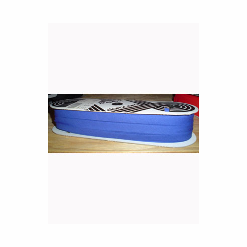 Bias Tape Double Fold Extra Wide Bolt 14mm Wide 50m longRoyal