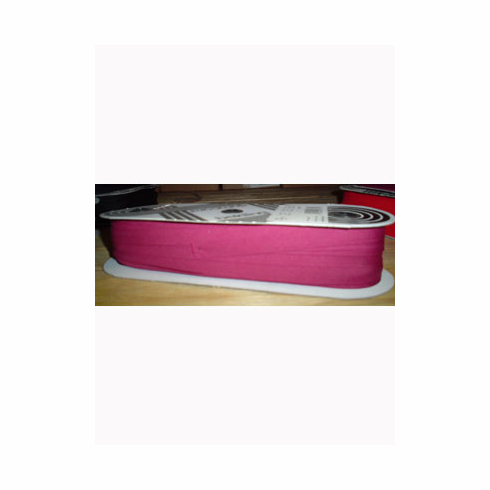 Bias Tape Double Fold Extra Wide Bolt 14mm Wide 50m longWine