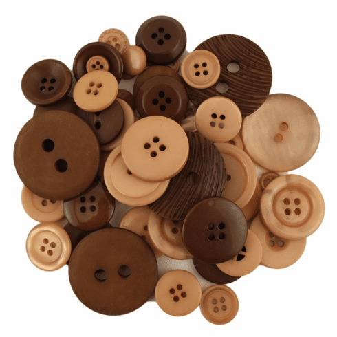 Bonanza Natural Buttons