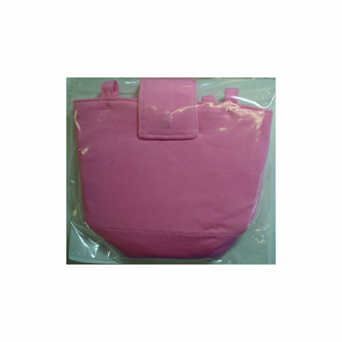 Button-On Bag Pink Tabbed