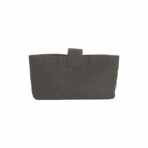 Button-On Bag Rectangle Black