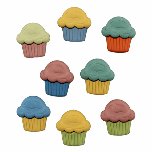 Celebrate Cupcakes Buttons