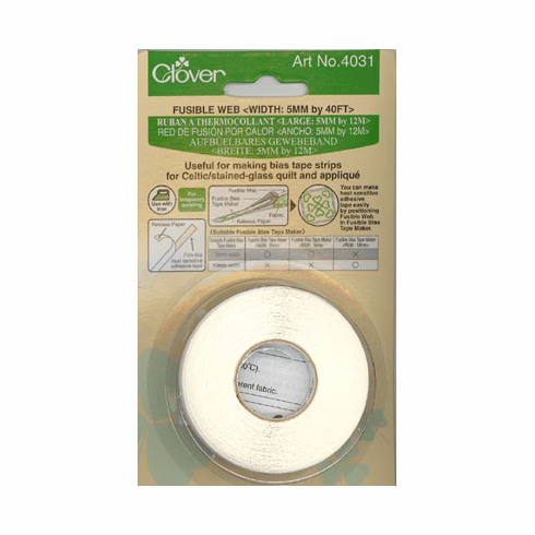 Clover Fusible Web, 5mm Wide x 12m Long