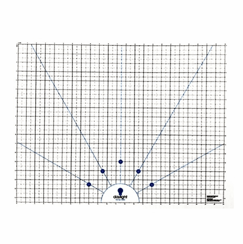 "Daylight Wafer 3 Cutting Mat, 19.69"" high x 25.20"" wide (60cm x 64cm)"