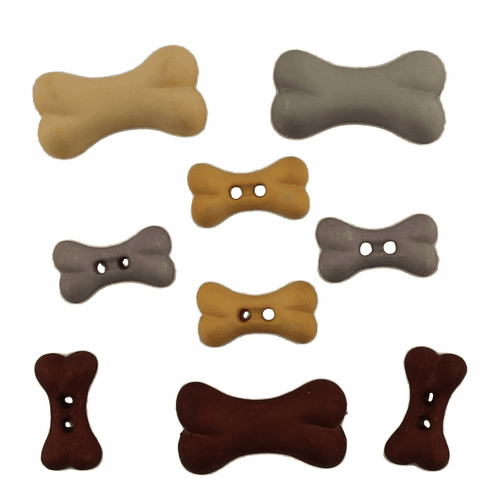 Doggie Delights Buttons
