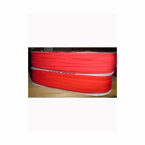 Double Fold Bias Tape 14mm wide by 50m long 300 Red