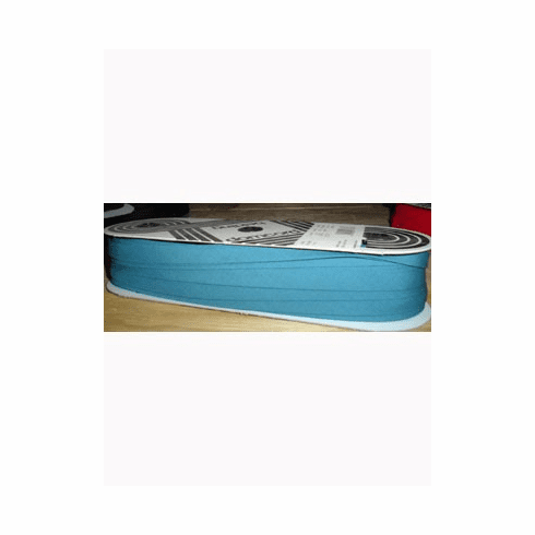 Double Fold Bias Tape 14mm wide by 50m long 525 Teal