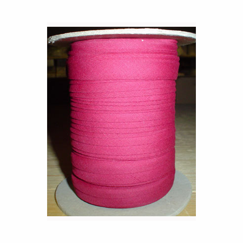 Double Fold Bias Tape Bulk Roll 11mm Wide by 50m Long Dusty Rose