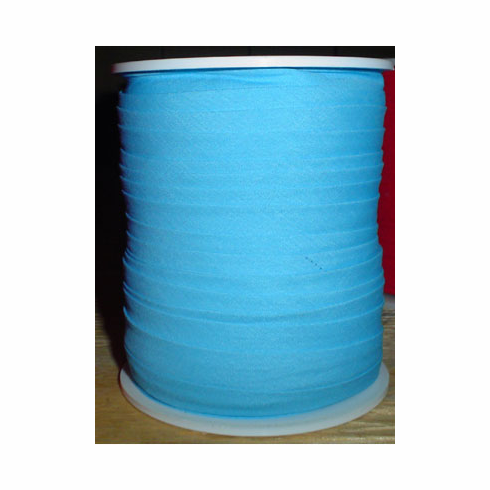 Double Fold Bias Tape Bulk Roll 11mm Wide by 50m Long Turquoise