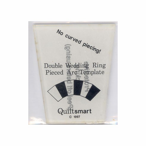 Double Wedding Ring Pieced Art Template by Quiltsmart