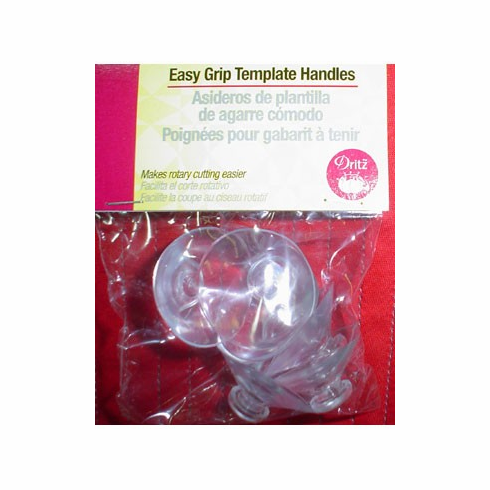 Easy Grip Template Handles, 5 Pieces