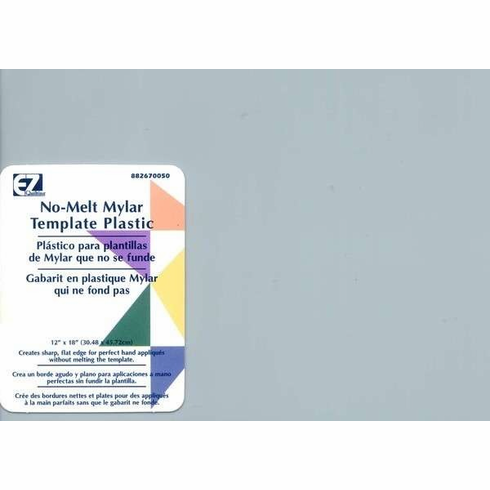 "EZ Quilting Tools Clear Mylar Template, 12"" x 18"""