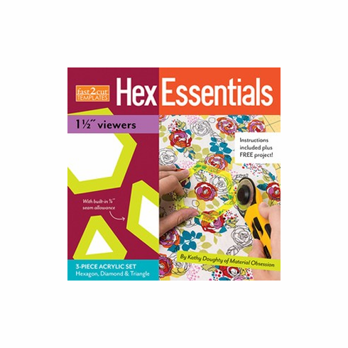"Fast2Cut Hexessentials 1-1/2"" Viewers"