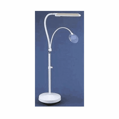 Floor Standing Craft Daylight Lamp, White, 18 Watt