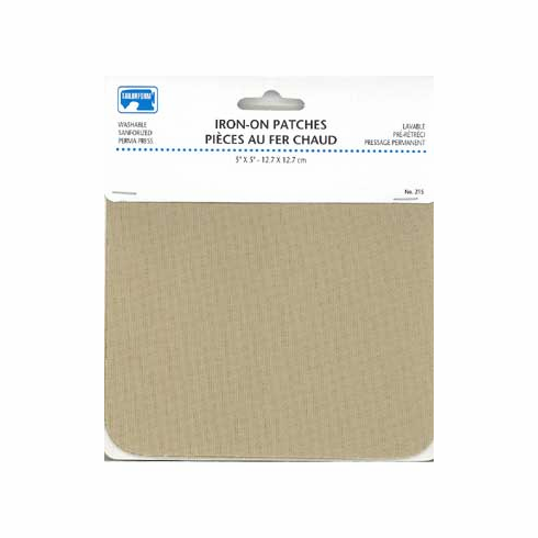 Iron-on Patches Drill Beige