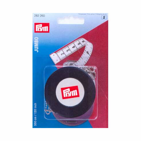 Jumbo Tape Measure Retractable White 120 inches or 300cm
