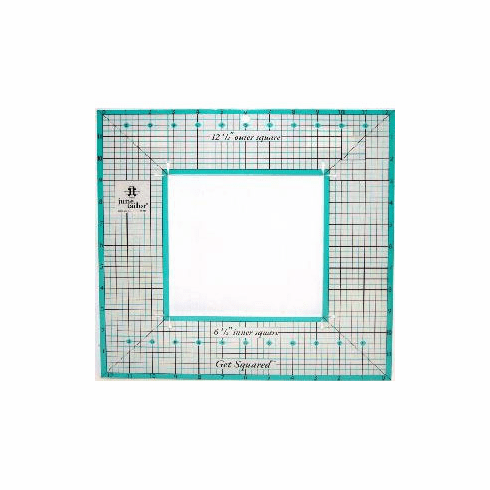 "June Tailor Get Squared 12 1/2"" Ruler"